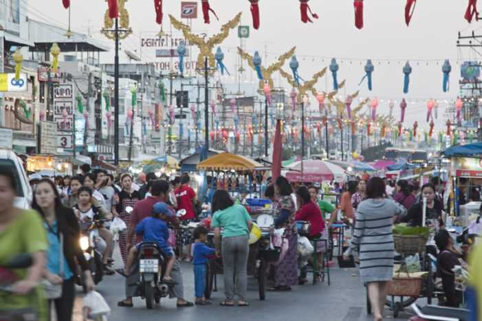 Security Tightened at Chiang Rai Border Towns in Wake of New Years Festivities