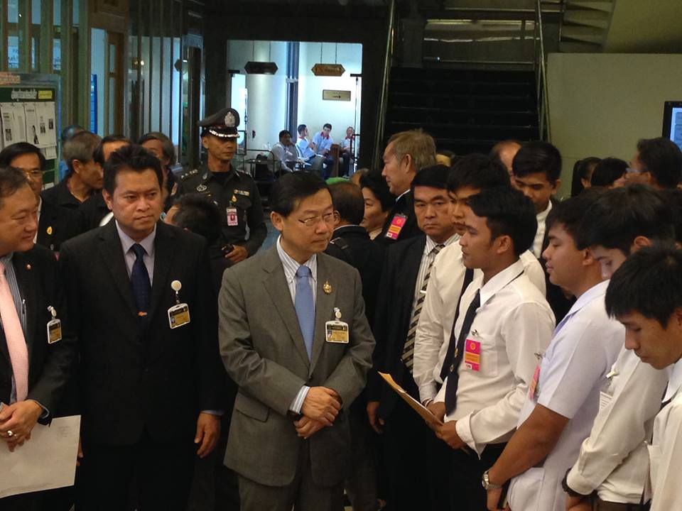 NLA's First Vice President Surachai Liengboonlertchai on Monday chaired the opening of a meeting in Chiang Rai