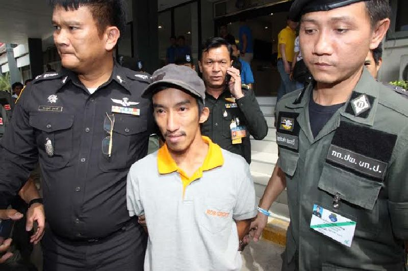 Thanet Anantawong arrested by Military on lese majeste under Section 112 of the Criminal Code, inciting disorder and computer crimes.