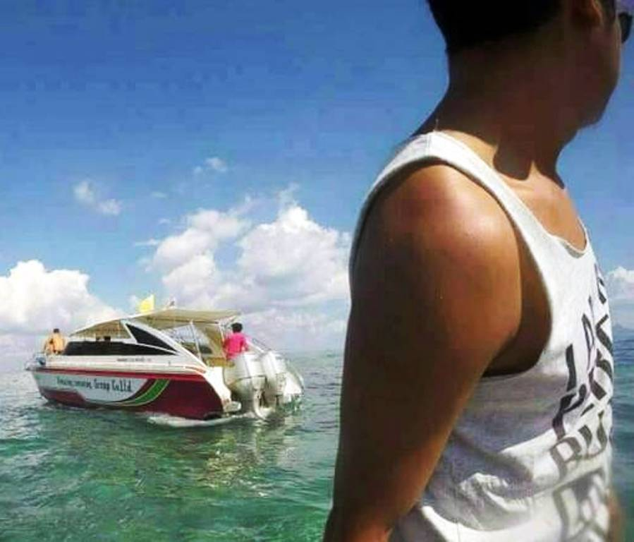 The captain fled to Phuket after his speedboat propeller struck and killed French tourist Sylvie Thietau. Photo: Eakkapop Thongtub