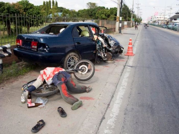 340 Dead, 3,092 Injured in Six days of Thailand's New Year's Festive Season