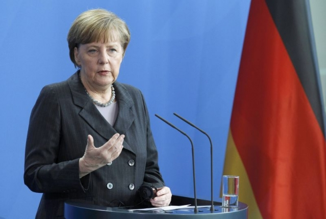 """What happened on New Year's Eve is completely unacceptable,"" Merkel said after a meeting with Romanian Prime Minister Dacian Ciolos in Berlin."