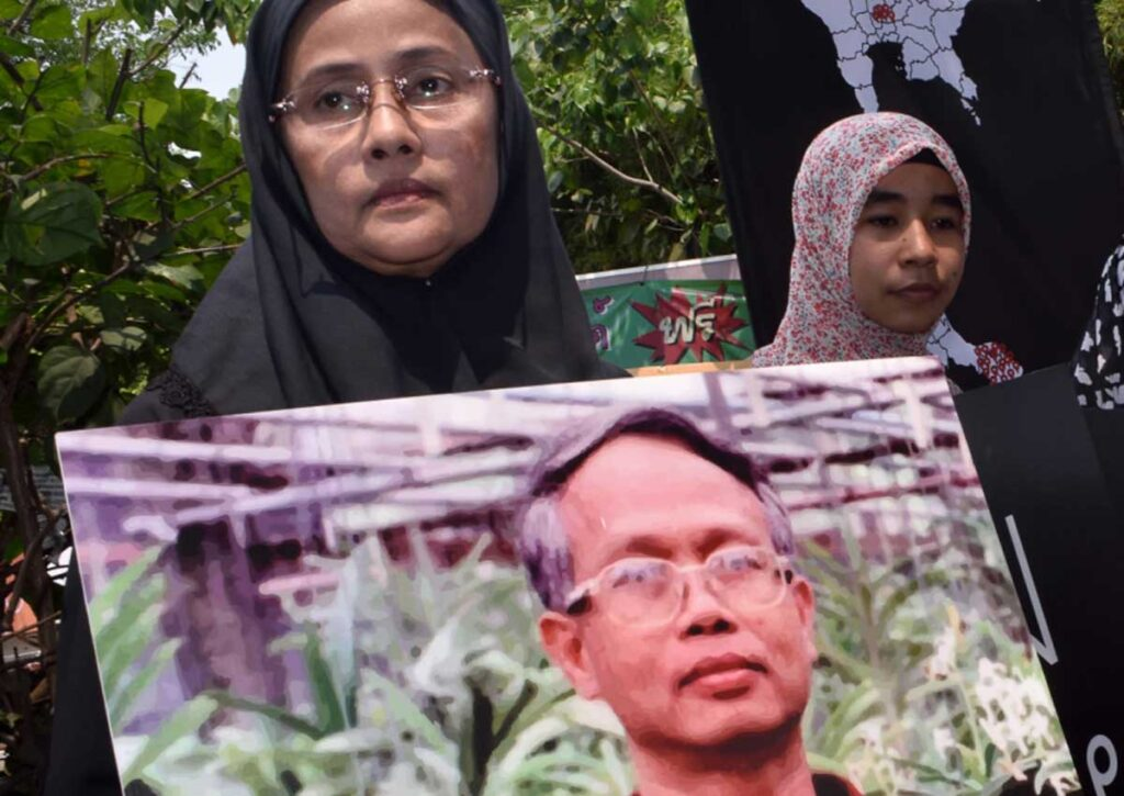Muslim lawyer Somchai Neelapaijit who went missing in 2004.