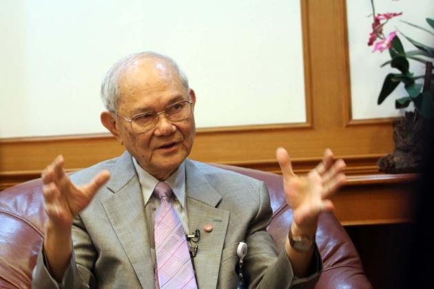 Meechai Ruchupan, chairman |of the Constitution Drafting Commission (CDC) - See more at: http://news.asiaone.com/news/asia/thailand-elections-likely-delayed-until-late-next-year#sthash.v1i87yba.dpuf