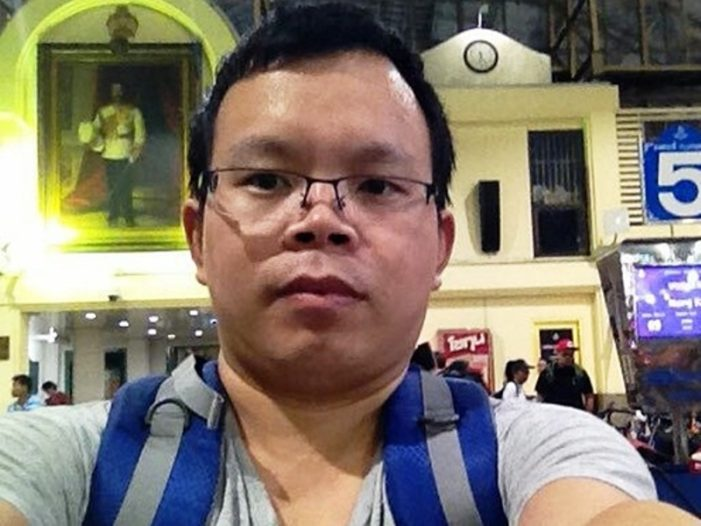 Chinese Human Rights Activist Disappears from Bangkok Train Station