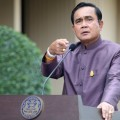 Prayut Chan-o-cha said a constitution he has prepared will be used, without elaborating which one