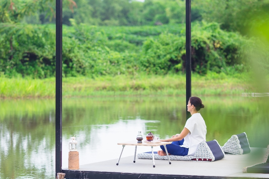 Time to release stress and reflect at Museflower Retreat & Spa Chiang Rai,Thailand