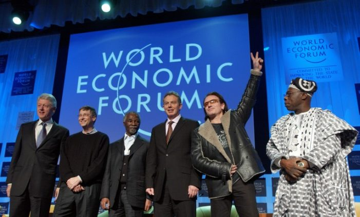 World Economic Forum, 62 People have more Money than half of the Entire World Population