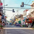 Chiang Khong's main streets are empty despite new economic zone.