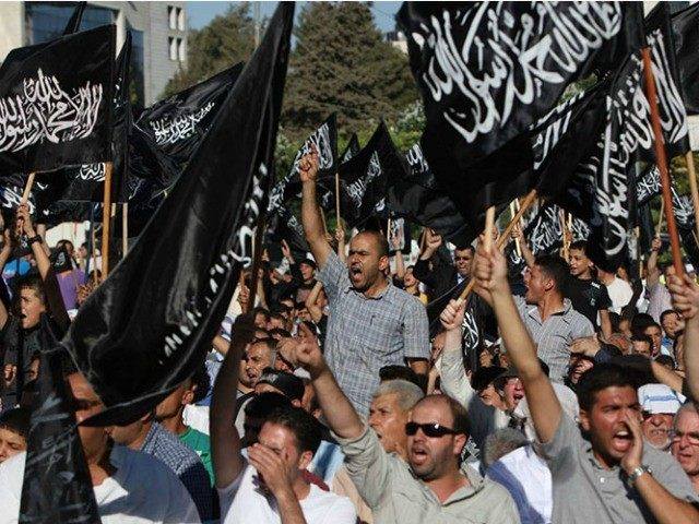 The symbol of the murderous Islamic State is waving in The Hague. 'Death to the Jews,' shout the demonstrators