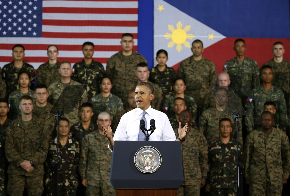 U.S. President Barack Obama pledged to provide two ships to the Philippine Navy, and the Philippines are expected to seek additional military support during the talks in Washington.