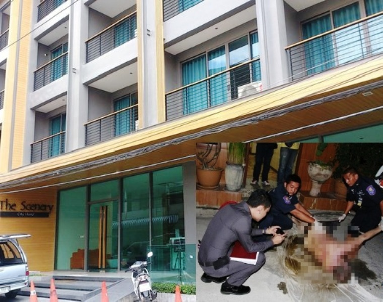The shattered body of Markus Henrik Mikkonen, 41, was found wedged between the walls of the Scenery Hotel - See more at: http://www.pattayamail.com/news/swede-dies-in-apparent-suicide-jump-54523#sthash.yZdDeCBe.dpuf