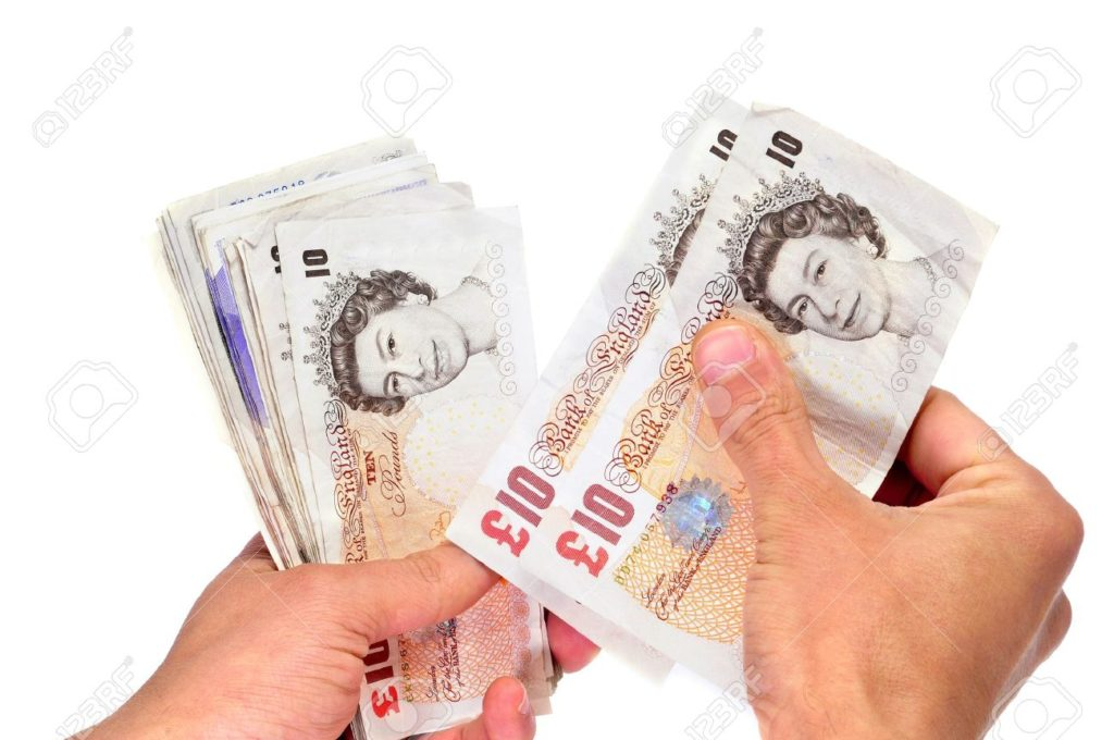 Monday's fall reverses a gain for the pound made late Friday,