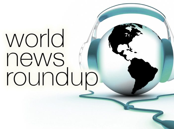 World New Round Up for February 19, 2016
