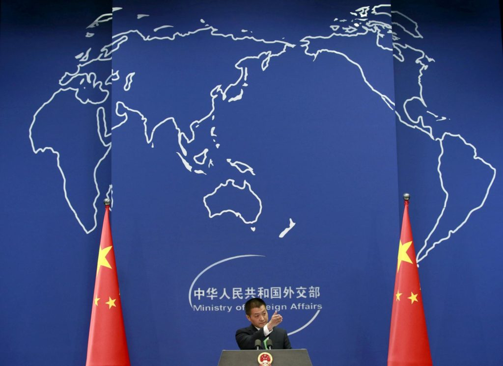 Chinese Foreign Ministry spokesman accused the US of militarizing the South China Sea
