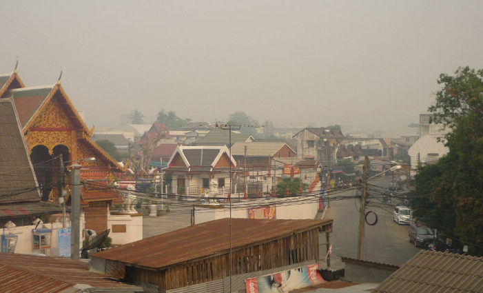 Air Quality Posing Health Risks in Northern Thailand