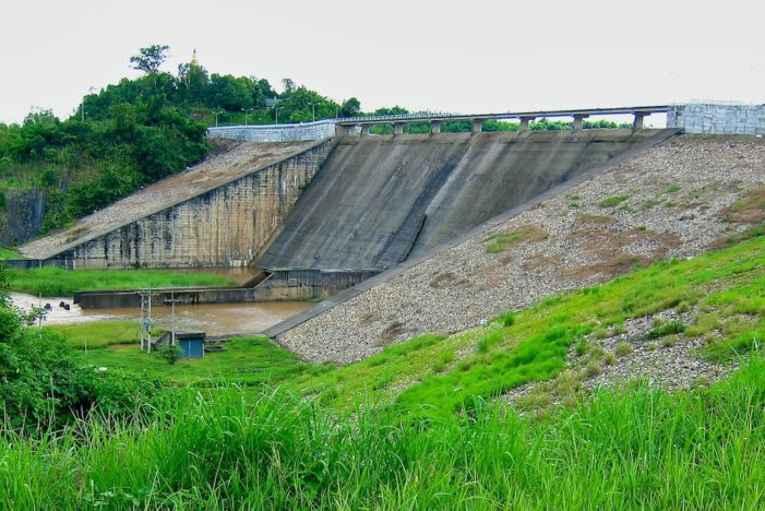 Chiang Rai's Mae Suai Dam at Record Low Levels