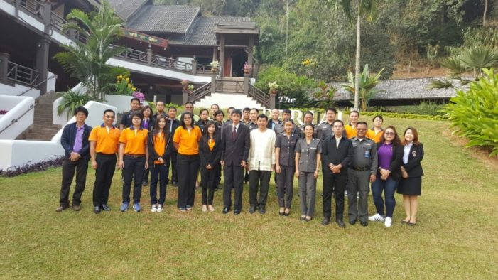 Chiang Rai Border Officials Trained on Radiation Gate Monitoring Systems