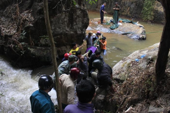 Three British Tourists Fall to their Deaths at Vietnam Waterfall