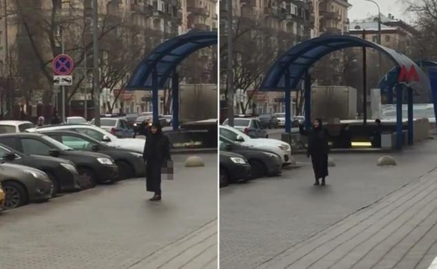 Woman waves 'child's head', screams 'I am terrorist' outside Moscow