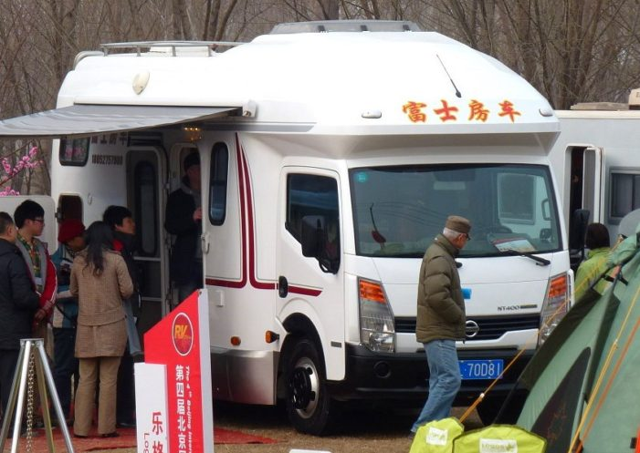 Chinese Starting to Arrive in RV's at Chiang Khong