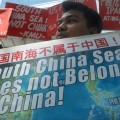China claims almost the entire South China Sea, believed to have huge deposits of oil and gas.
