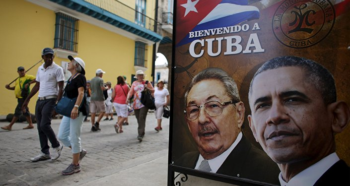 Obama will be the first sitting US president to visit Cuba since Calvin Coolidge in 1928. Read more: http://sputniknews.com/us/20160320/1036606610/obama-panfilo-skit-cuba-visit.html#ixzz43WtKDJJz