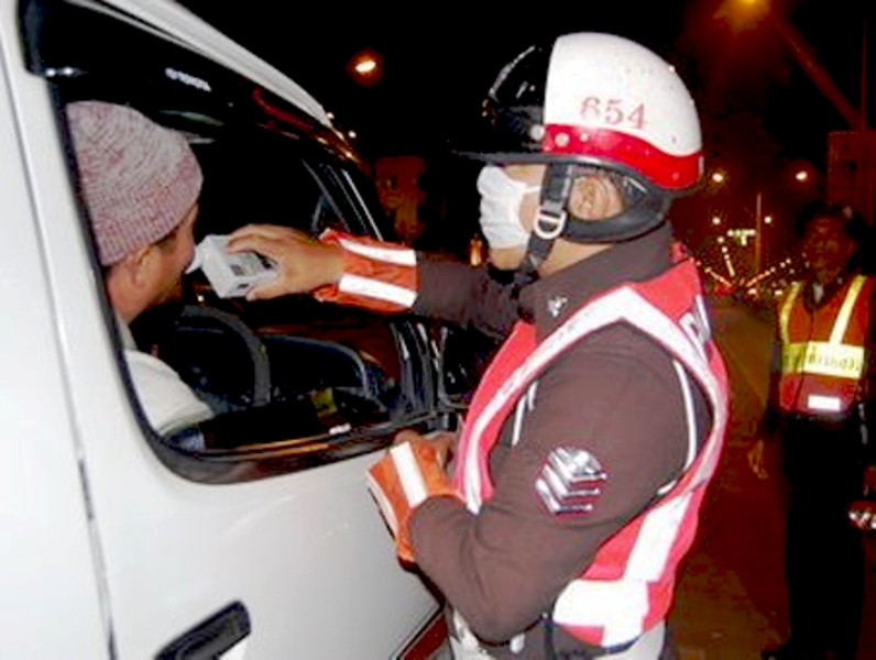 Police will test drivers for alcohol consumption and impound vehicles