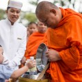 Steps are being taken in Thailand to wean Buddhist monks off unhealthy food after a study suggested that almost half of them are overweight.