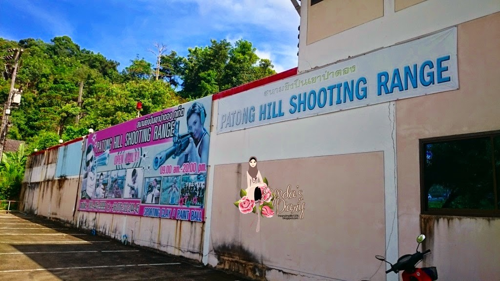 The tourist, identified as Andres Podra, 38, was found dead in a pool of blood at Patong Hill Shooting Range