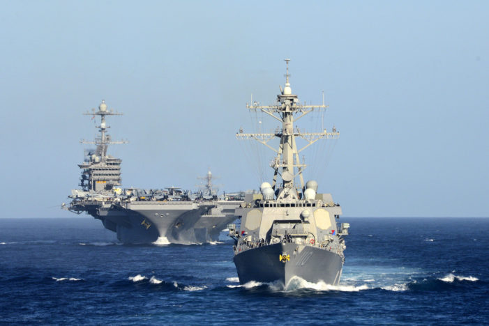 U.S. Navy Dispatches Small Armada to the South China Sea
