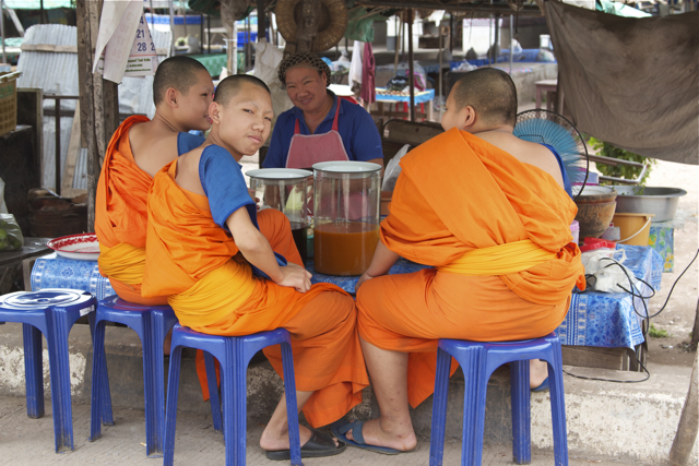It's a monk's responsibility to watch what he eats, Phra Maha Narong said, adding monks were not allowed to reject food offered by faithful. Please credit and share this article with others using this link:http://www.bangkokpost.com/news/general/897276/almost-half-monkhood-overweight. View our policies at http://goo.gl/9HgTd and http://goo.gl/ou6Ip. © Post Publishing PCL. All rights reserved.