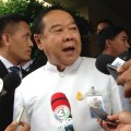 Deputy Prime Minister Prawit Wongsuwon warned anti-government critics they face up to a week long of detention for remarks considered as damaging the nation and causing conflicts.
