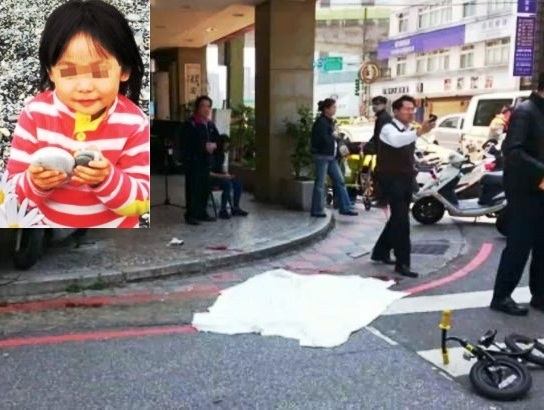 Four-year-old Girl Beheaded by Mad Man in Taipei