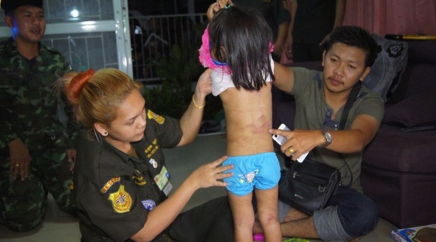 Thai Police Rescue 4 Year Old Girl Left Alone with No Food for 3 Days