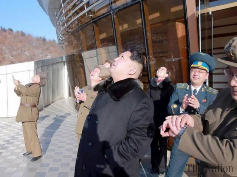Thursday's missiles flew about 500 km (300 miles) into the sea off the east coast city of Wonsan