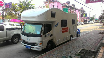 Chinese Motorhomes Spark Frustration in Northern Thailand