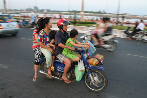 Once Again Thai Authorities Launch Helmet Campaign