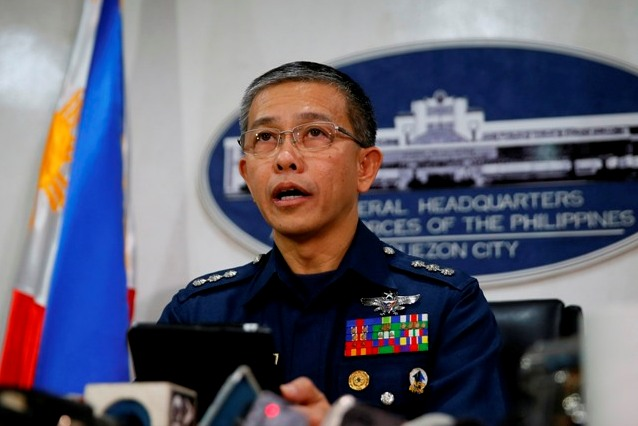 Brigadier-General Restituto Padilla says no to ransom of Kidnapped Foreigners