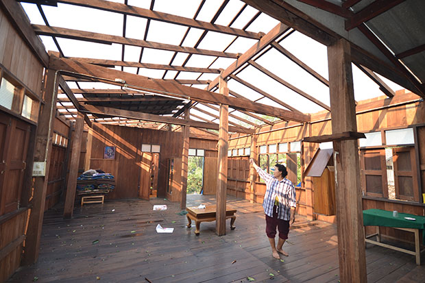 Lightening Storm Strikes Northern Thailand, Damaging Over 600 Homes and Killing Elderly Woman
