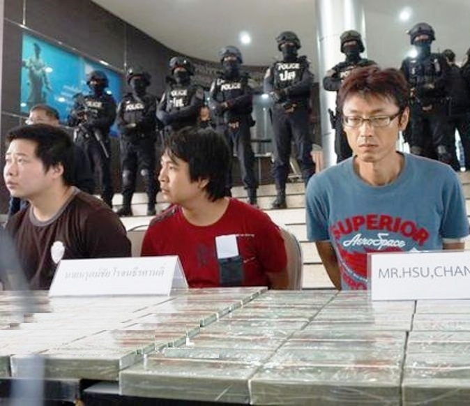 Thai Authorities Bust Taiwan, Chinese Drug Smugglers