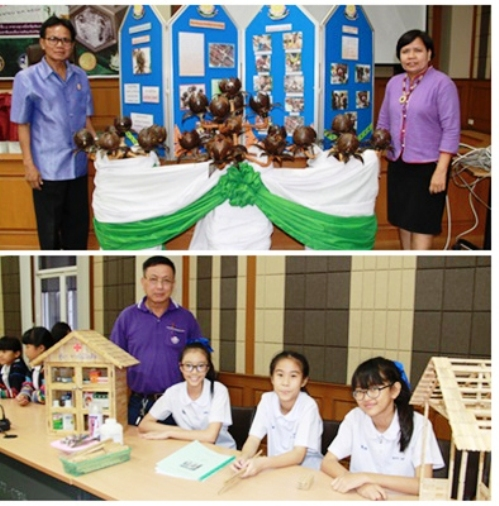 Chiang Rai Officials Award Participants in Recycling Contest