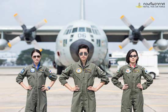 Royal Thai Airforce Starts Accepting Women Pilots