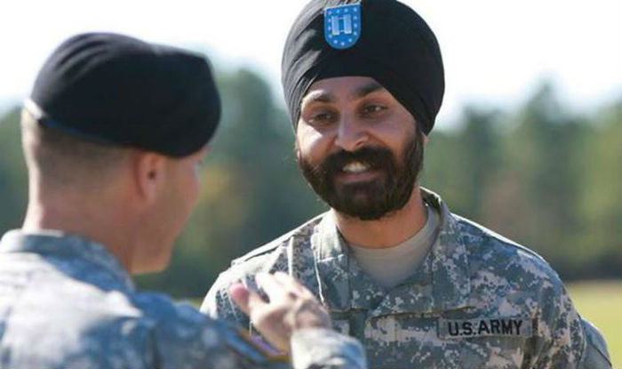 Capt. Simratpal Singh, who won the long-term ability to serve with his Sikh articles of faith intact on March 31, 2016