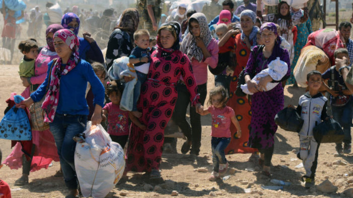Turkey Accused of Forcing Syrian Women and Children Back into the Hands of ISIS