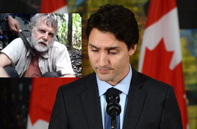 Prime Minister Justin Trudeau says he is outraged and that Canada will work to hunt down those responsible