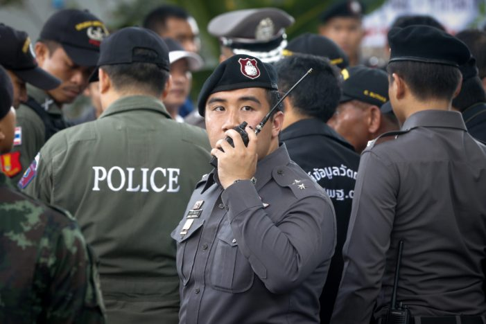 Thai Police Arrest More than 20,000 Suspected Criminals in One Week