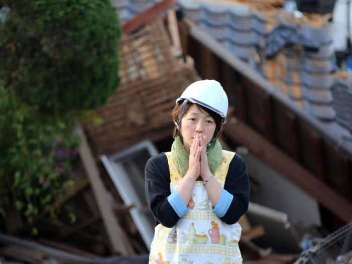 Second 7.3 Quake Strikes Japan Hindering Rescues from First Quake