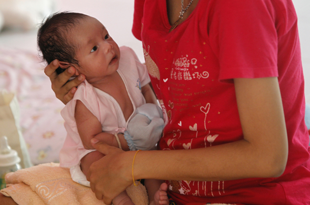 Thailand has an average of at least 130,000 teenage pregnancies per year,