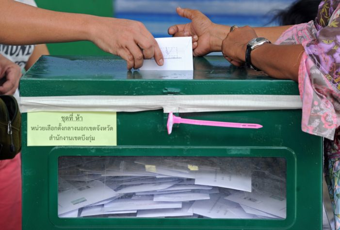 New Bill Drafted to Get Tough on Electoral Fraud and Vote Buying in Thailand